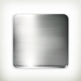Metal plate. сomputer illustration on white background Royalty Free Stock Photo