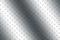 Metal plate. Basic picture of the patterned metal plate Royalty Free Stock Images