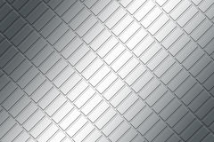 Metal plate. Basic picture of the patterned metal plate Stock Photo