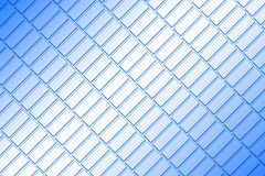 Metal plate. Basic picture of the patterned blue metal plate Royalty Free Stock Images