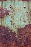 Metal plate. Rusty metal plate Stock Photo