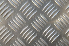 Metal Plate. Detail of a metal surface Stock Images