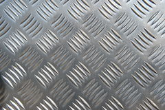 Metal Plate. Detail of a metal surface Royalty Free Stock Image