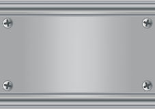 Metal plate Stock Images