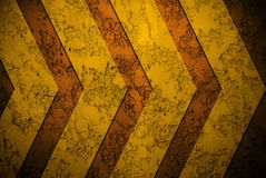 Metal plate with arrow design Royalty Free Stock Photo