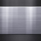 Metal plate background Stock Image