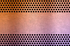 Metal plate background Royalty Free Stock Photo