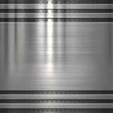 Metal plate background royalty free illustration