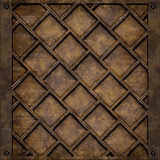 Metal plate cover (Seamless texture) Royalty Free Stock Images