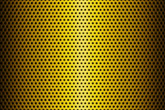 Metal Plate Covered with Lines of Circular Holes. 3d Rendering. Metal Plate Covered with Lines of Circular Holes extreme closeup. 3d Rendering Royalty Free Stock Photo