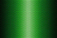 Metal Plate Covered with Lines of Circular Holes. 3d Rendering. Metal Plate Covered with Lines of Circular Holes extreme closeup. 3d Rendering Royalty Free Stock Photography