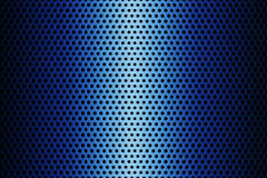 Metal Plate Covered with Lines of Circular Holes. 3d Rendering. Metal Plate Covered with Lines of Circular Holes extreme closeup. 3d Rendering Royalty Free Stock Images