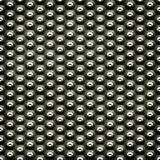 Metal plate with dots Royalty Free Stock Photos