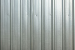 Metal plate fence Royalty Free Stock Photography