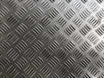 Metal plate floor tiles anti slip texture. Stock Photography