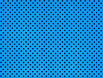 Metal plate with many holes. Blue color of metal plate with many holes Stock Images