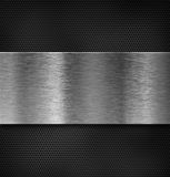 Metal plate over grate Stock Photo