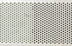 Metal plate pattern Stock Photography