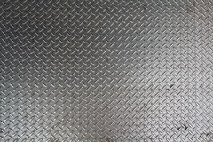 Metal plate with a pattern Stock Photo