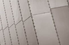Metal plate surface Stock Images