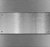 Metal plate template or pattern Stock Images