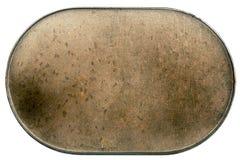 Metal plate texture Stock Image