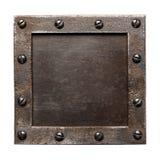 Metal plate Stock Photos