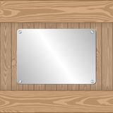Metal plate Stock Photography