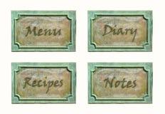 Metal plates Stock Photo