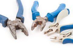 Metal pliers Stock Images