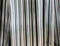 Metal poles Stock Photos