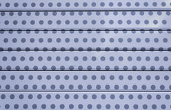 Metal with polka dots Stock Image