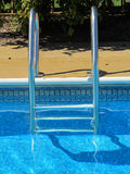 Metal Pool Ladder Royalty Free Stock Photos