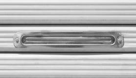 Metal post box Stock Photo