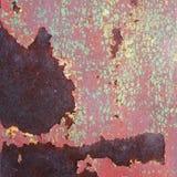 metal powierzchni stary ośniedziały, przetarty z korodowaniem i Zdjęcie Stock