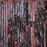 metal powierzchni stary ośniedziały, przetarty z korodowaniem i Obraz Stock