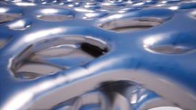 Metal powierzchnia z dużymi dziurami zbiory wideo