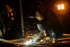 Metal praca Obraz Stock