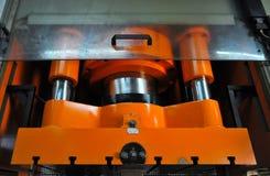 Metal Prasowa maszyna Zdjęcia Stock