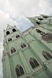 Metal Prefabricated Church Royalty Free Stock Photo