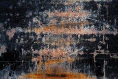 Metal preto oxidado foto de stock