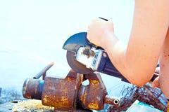Metal processing royalty free stock photos