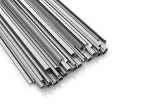Metal products for building Royalty Free Stock Photography