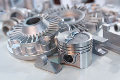 Metal Products Made By Casting Techniques Stock Images