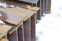 Metal profile beam Stock Image