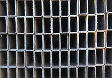 Metal profile square tube Royalty Free Stock Photo