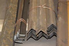 Metal profiles angle Royalty Free Stock Photography