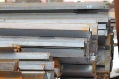 Metal profiles angle Royalty Free Stock Image
