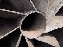 Metal propeller Stock Photography