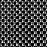 Metal Prostokątnej siatki bezszwowy wzór Obrazy Stock